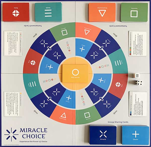 Miracle Choice Game board